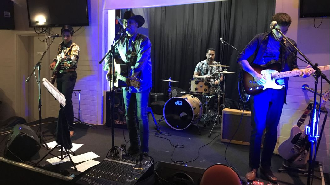 Honkytonk Rockers at the Guild on 27 July 2018